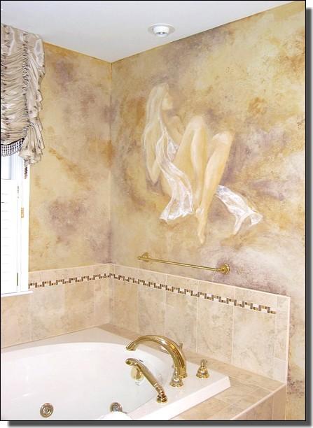 """Falfestmény - Falfestés ötletek - Dekorációs falfestés - Ábrahám Mónika a """"falmester"""", aki az Ön ..."""